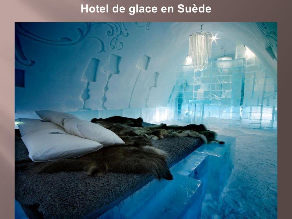 Hotel de glace en Suède