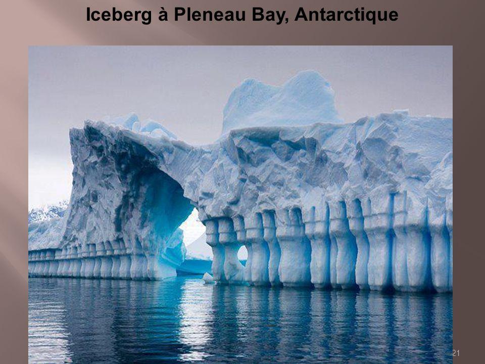 Iceberg à Pleneau Bay, Antarctique