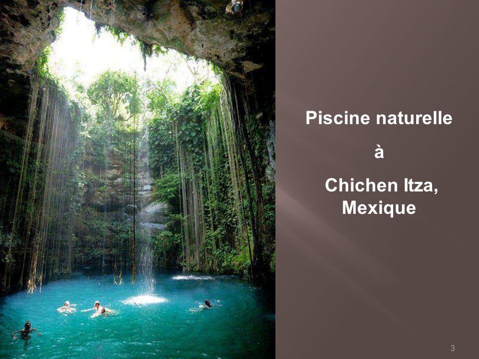 Piscine naturelle à Chichen Itza, Mexique