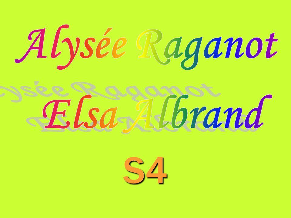 S4 Alysée Raganot Elsa Albrand