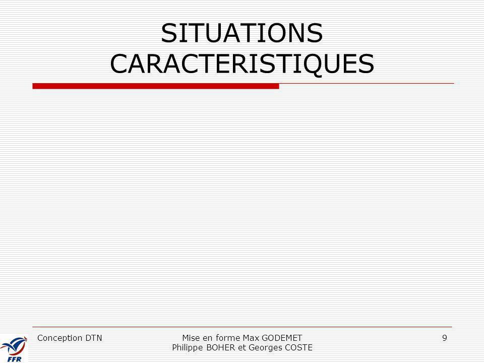 SITUATIONS CARACTERISTIQUES