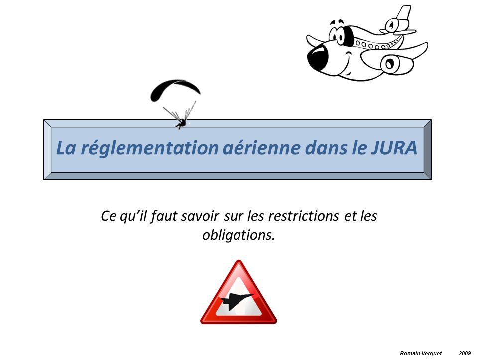 La réglementation aérienne dans le JURA