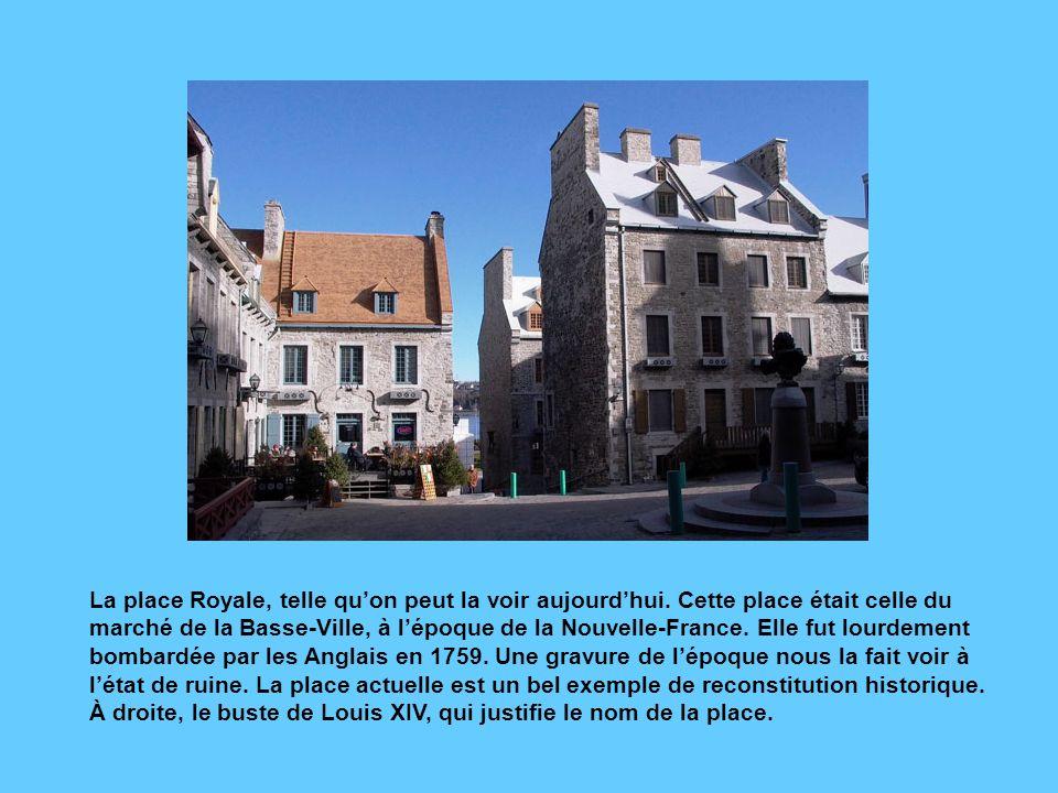 La place Royale, telle qu'on peut la voir aujourd'hui