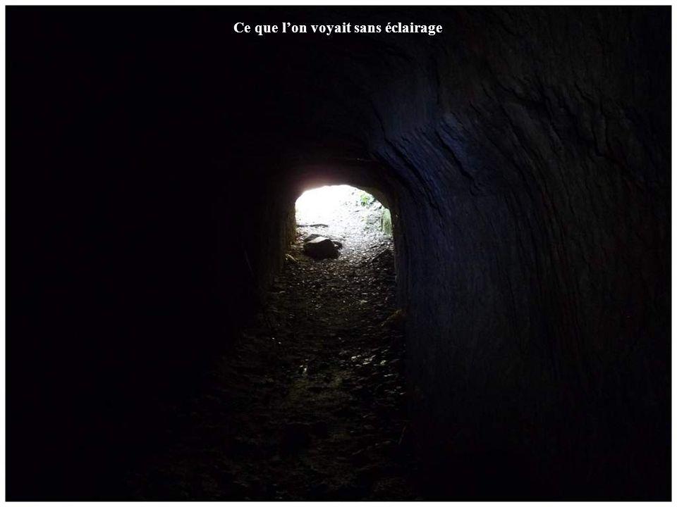 Ce que l'on voyait sans éclairage