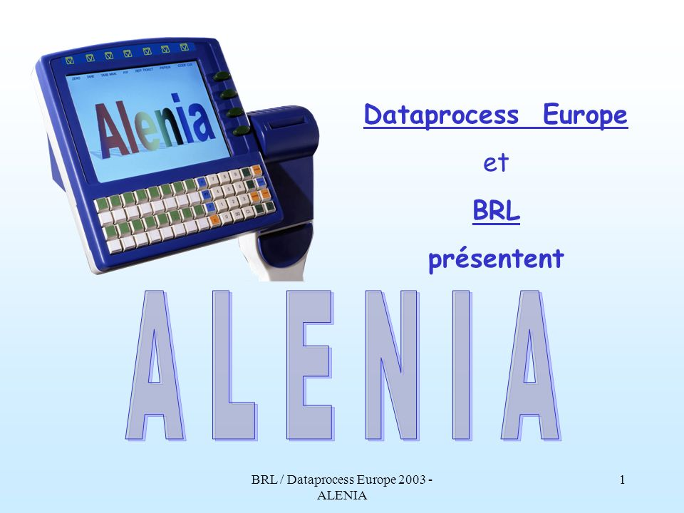 BRL / Dataprocess Europe ALENIA
