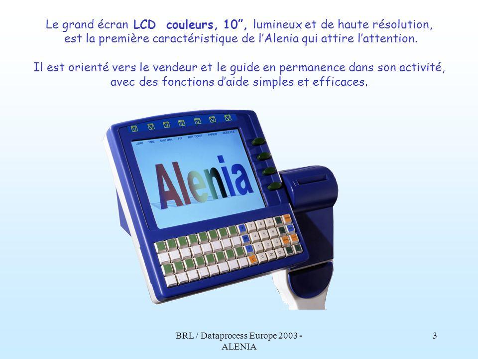 Le grand écran LCD couleurs, 10 , lumineux et de haute résolution,