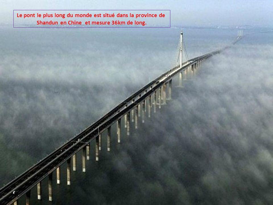 Le pont le plus long du monde est situé dans la province de