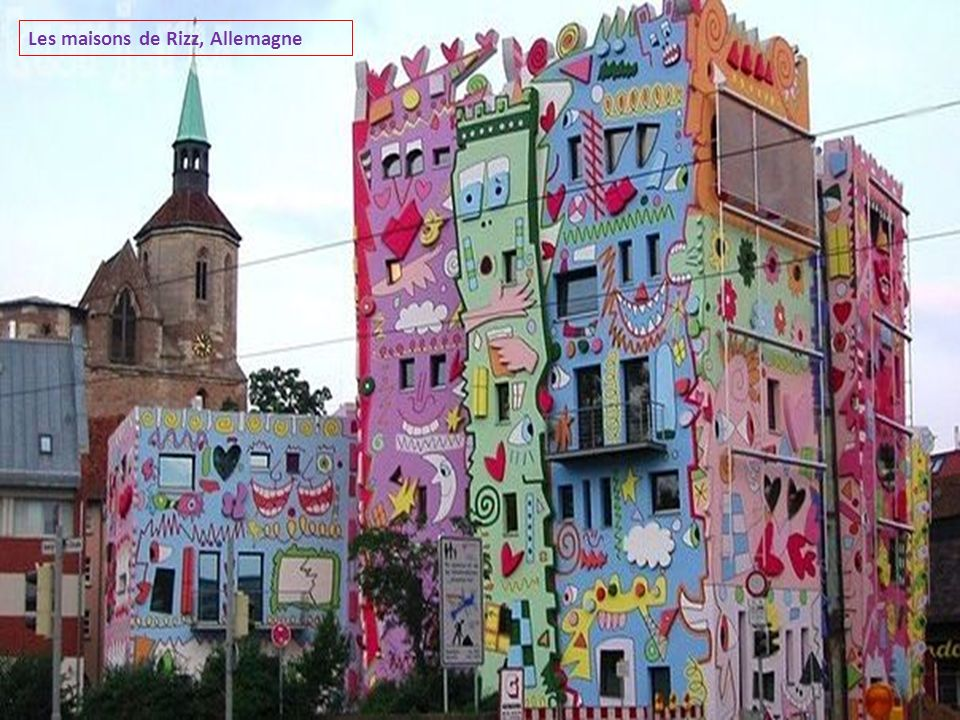 Les maisons de Rizz, Allemagne