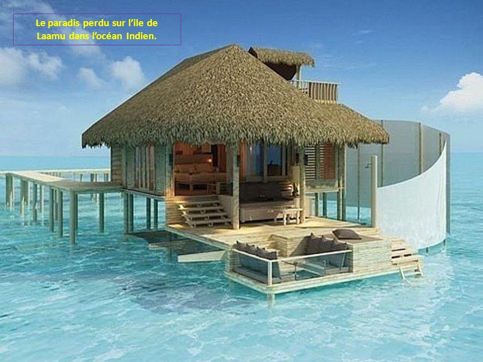 Le paradis perdu sur l'ile de Laamu dans l'océan Indien.