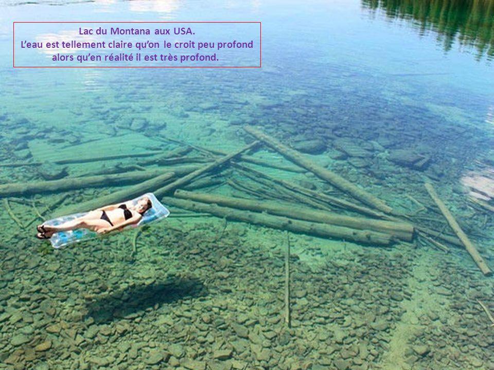 Lac du Montana aux USA.
