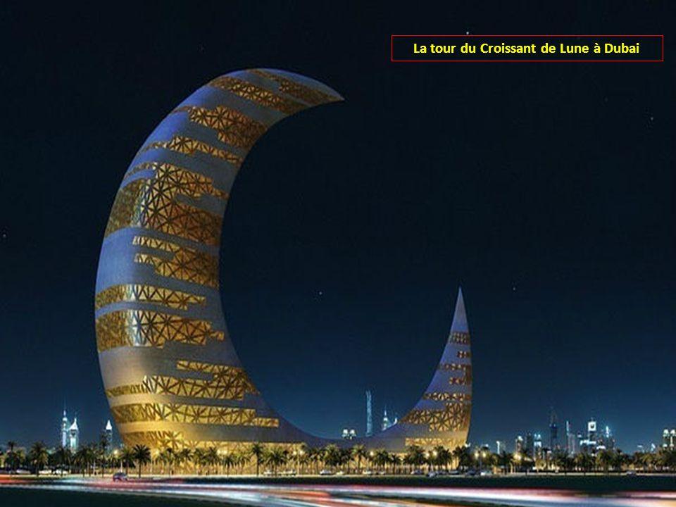 La tour du Croissant de Lune à Dubai