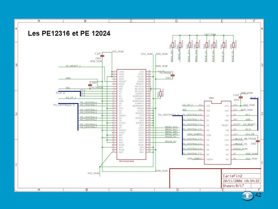 Les PE12316 et PE 12024