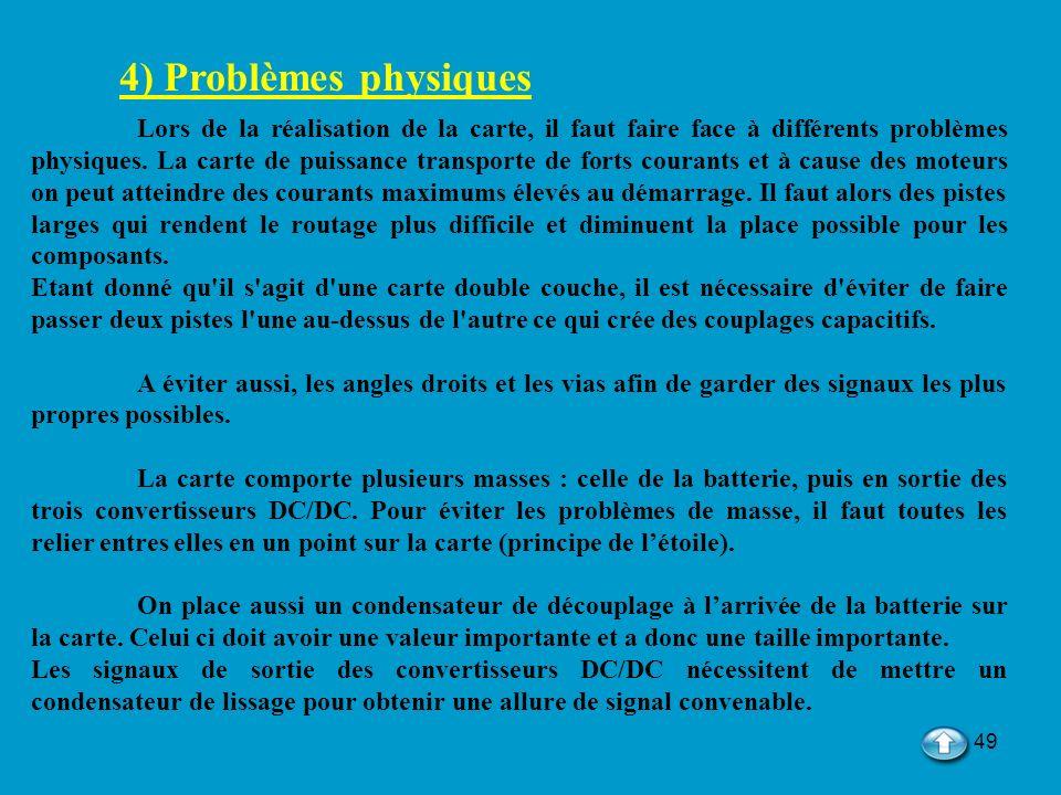 4) Problèmes physiques