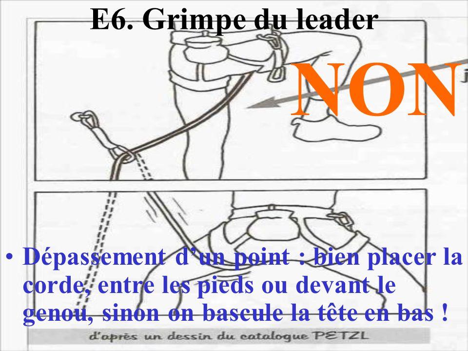 E6. Grimpe du leader NON.