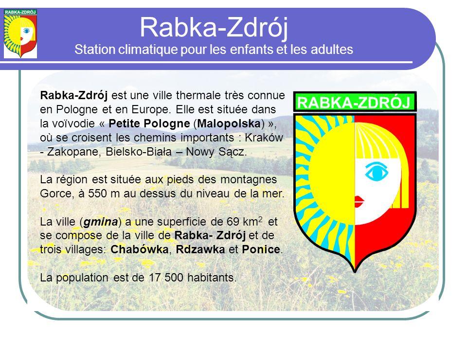 Rabka-Zdrój Station climatique pour les enfants et les adultes