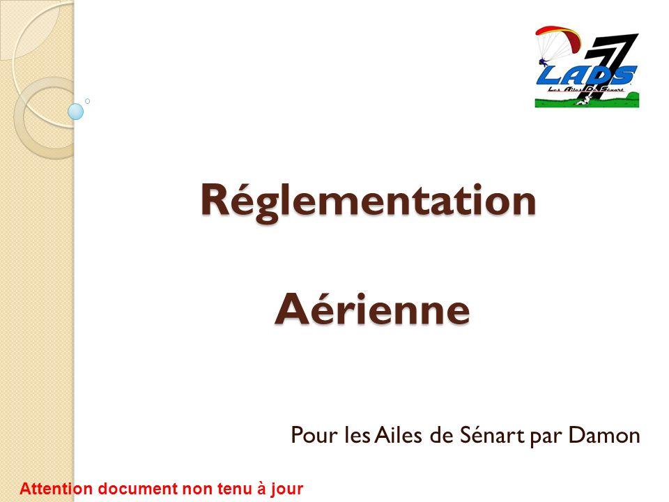 Réglementation Aérienne