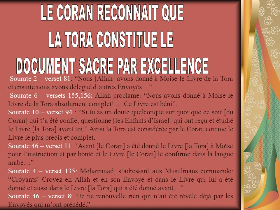 DOCUMENT SACRE PAR EXCELLENCE