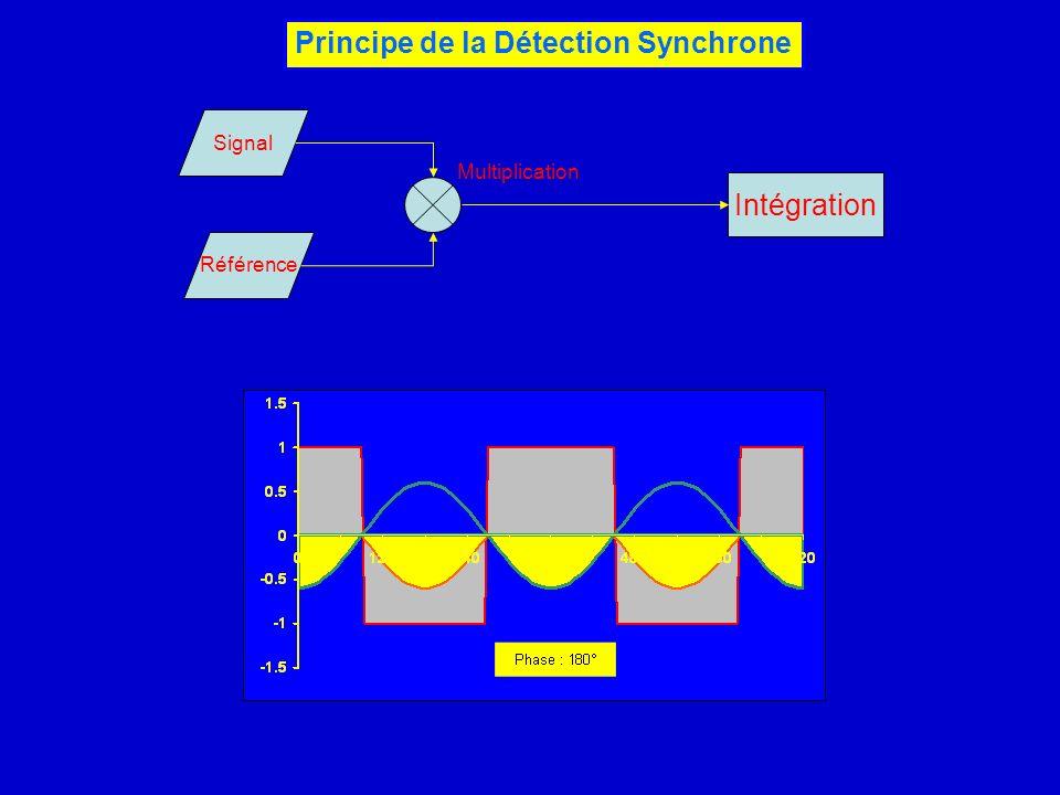 Principe de la Détection Synchrone