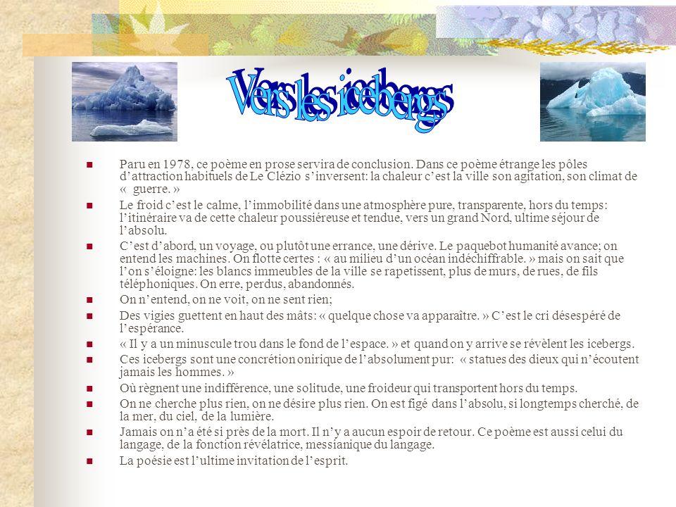 Vers les icebergs