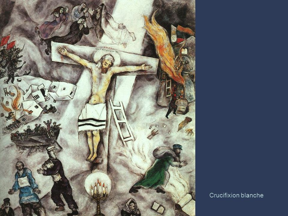 Crucifixion blanche