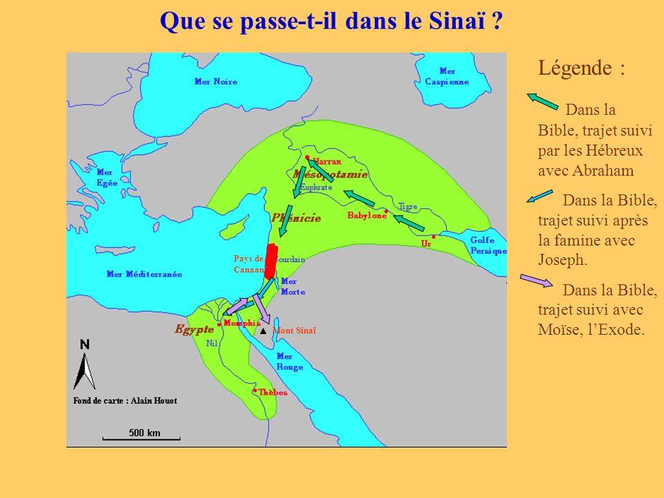 Que se passe-t-il dans le Sinaï