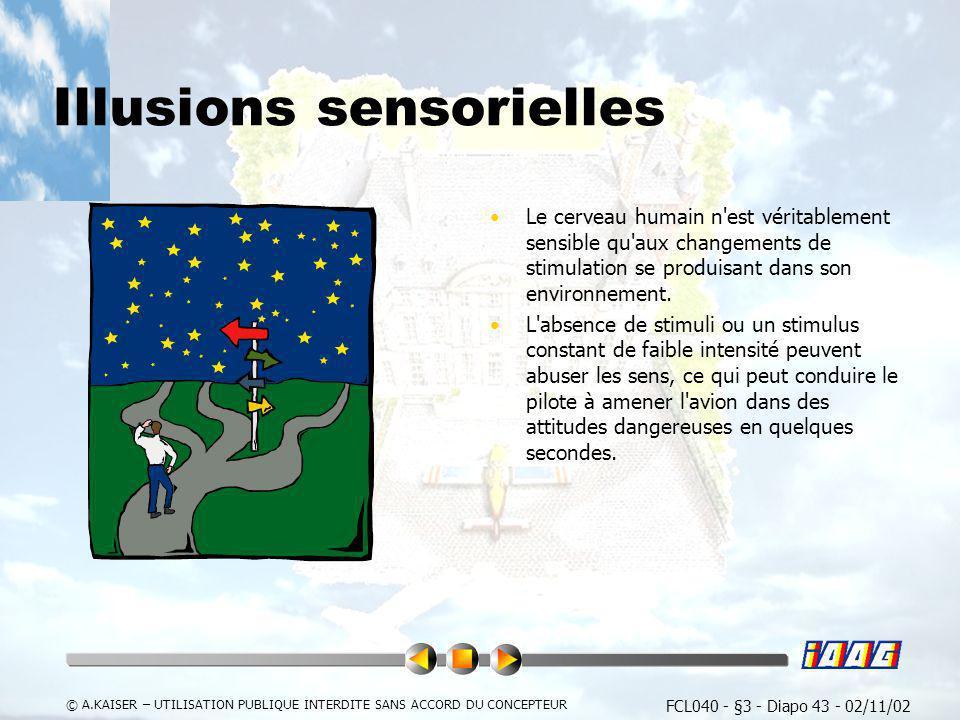 Illusions sensorielles