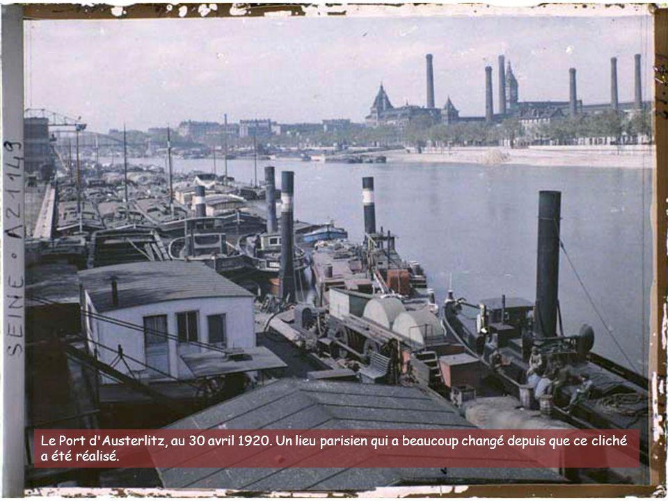 Le Port d Austerlitz, au 30 avril 1920