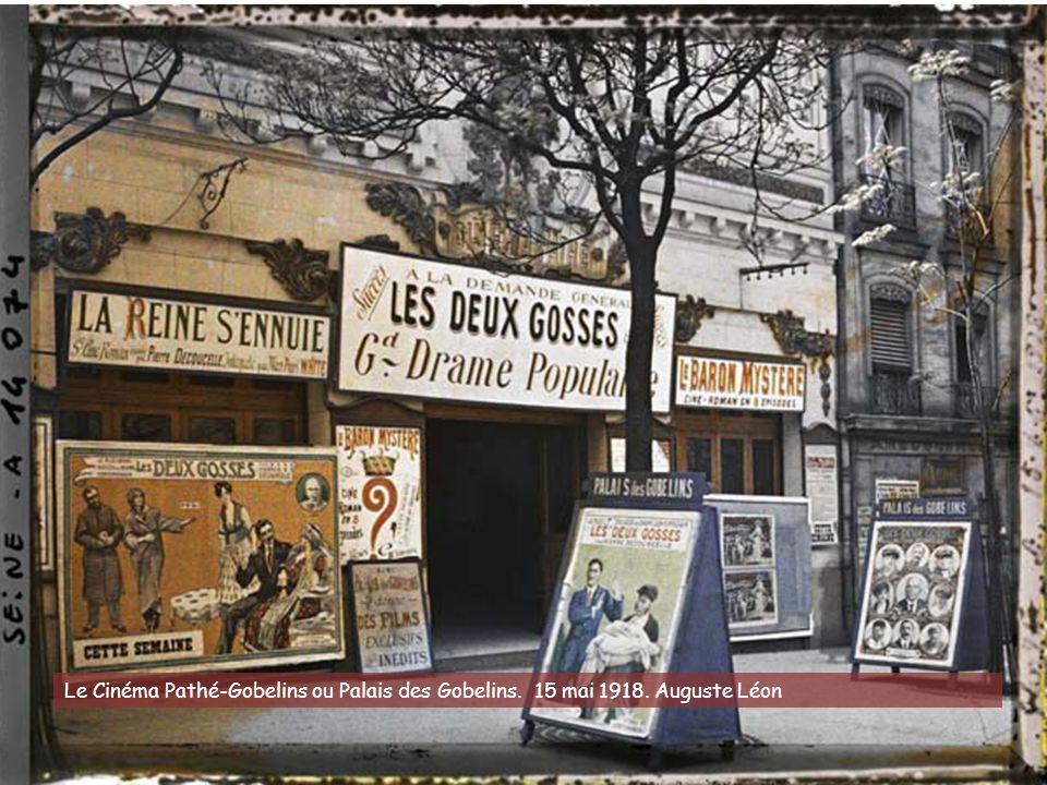 Le Cinéma Pathé-Gobelins ou Palais des Gobelins. 15 mai 1918