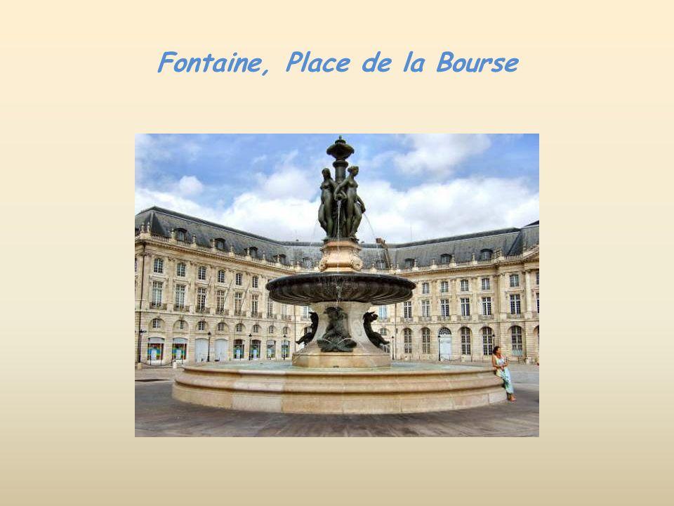 Fontaine, Place de la Bourse