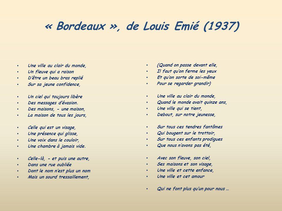« Bordeaux », de Louis Emié (1937)