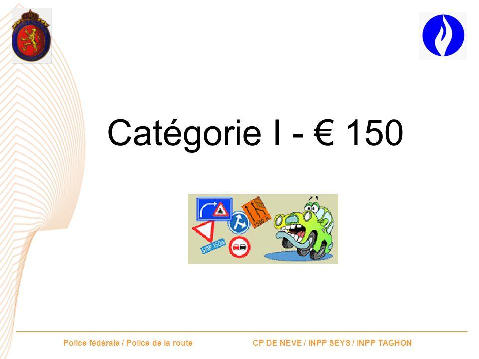 Catégorie I - € 150