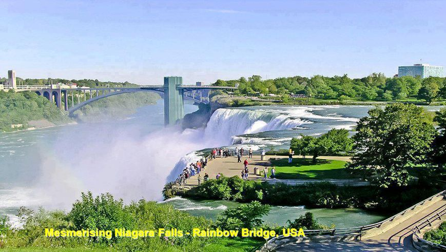 Mesmerising Niagara Falls - Rainbow Bridge, USA