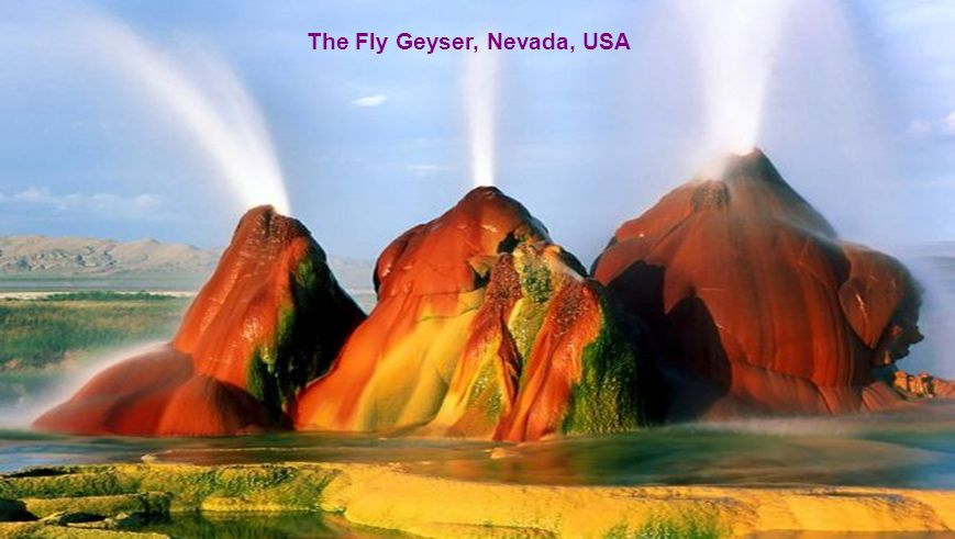 The Fly Geyser, Nevada, USA