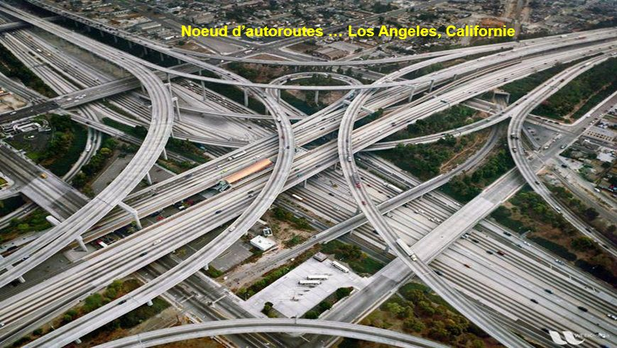 Noeud d'autoroutes … Los Angeles, Californie