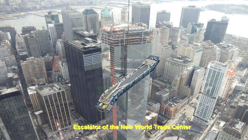 Escalator of the New World Trade Center