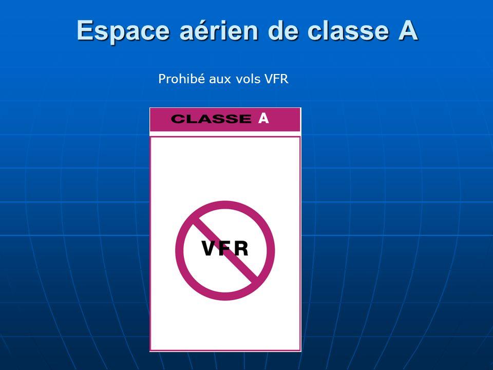 Espace aérien de classe A