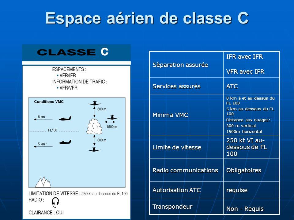 Espace aérien de classe C