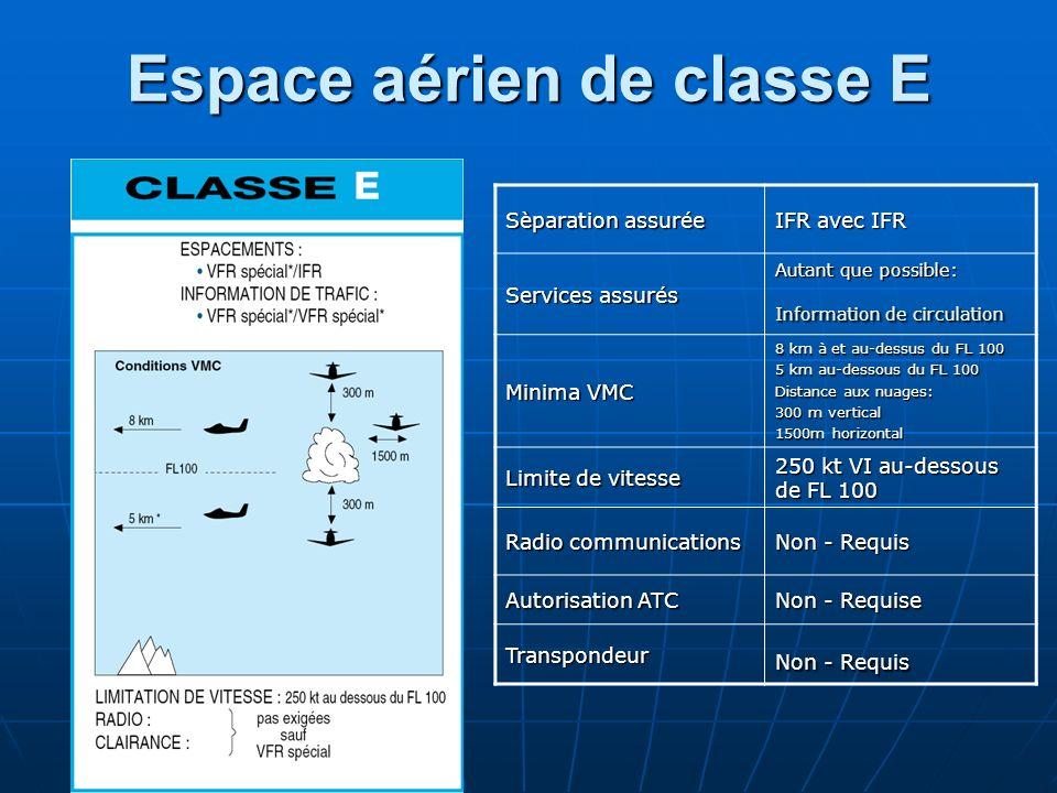 Espace aérien de classe E