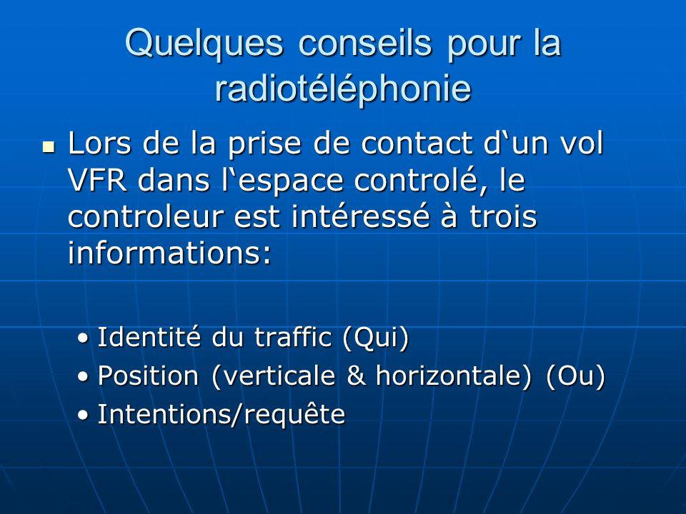 Quelques conseils pour la radiotéléphonie
