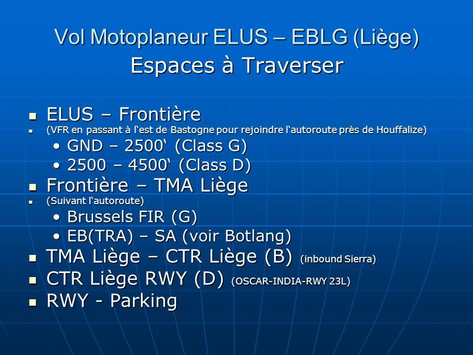 Vol Motoplaneur ELUS – EBLG (Liège)