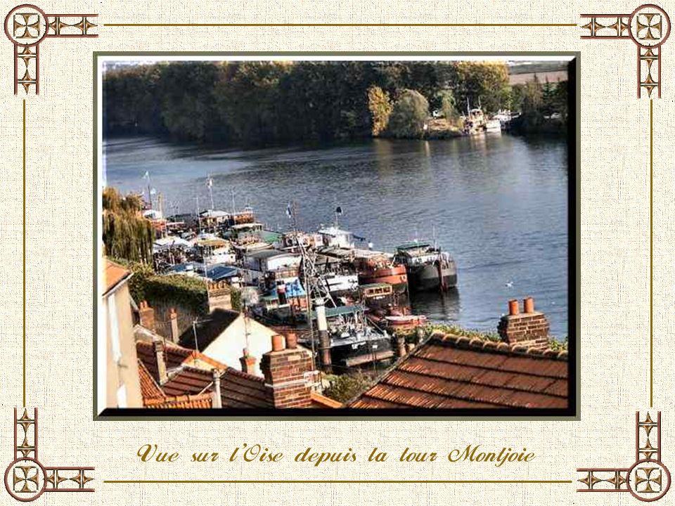 Vue sur l'Oise depuis la tour Montjoie