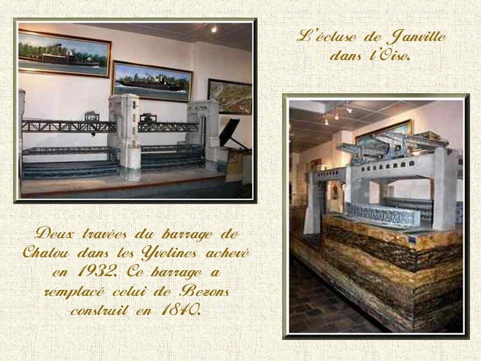 L'écluse de Janville dans l'Oise.