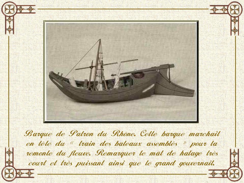 Barque de Patron du Rhône