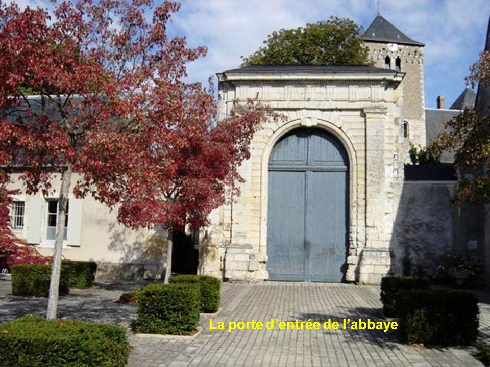 La porte d'entrée de l'abbaye