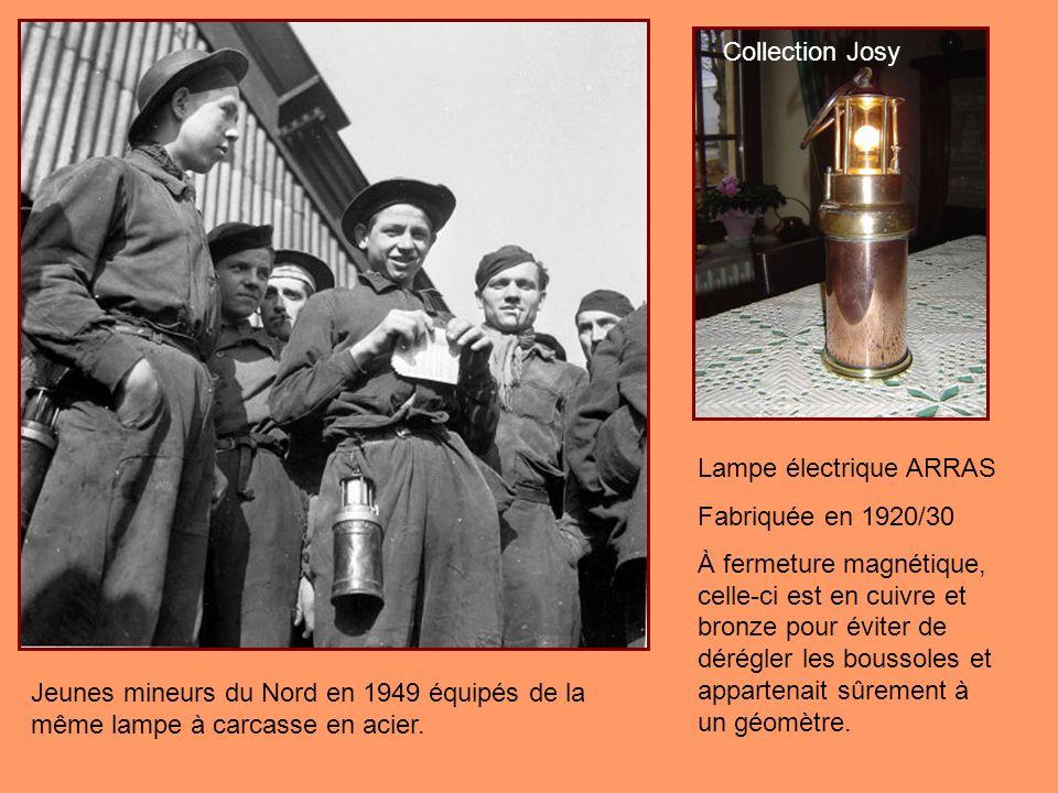 Collection Josy Lampe électrique ARRAS. Fabriquée en 1920/30.