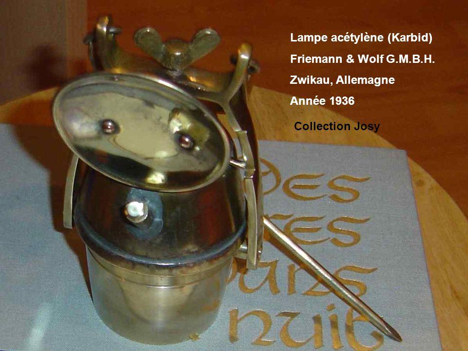 Lampe acétylène (Karbid)