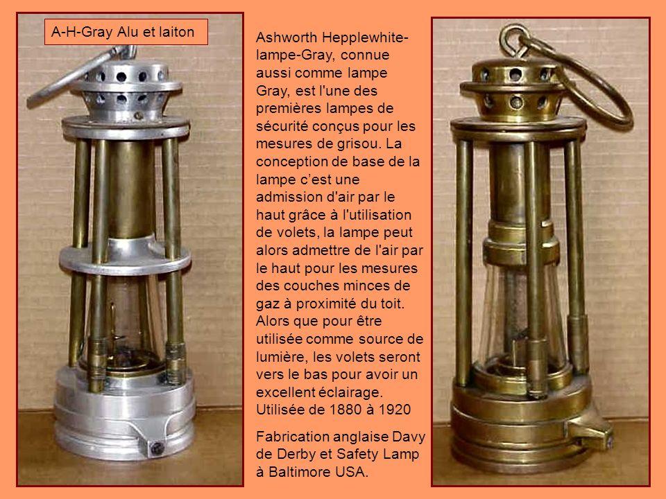 A-H-Gray Alu et laiton