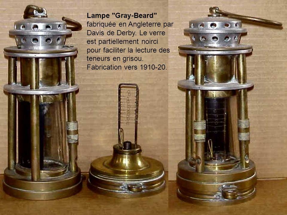 Lampe Gray-Beard fabriquée en Angleterre par Davis de Derby