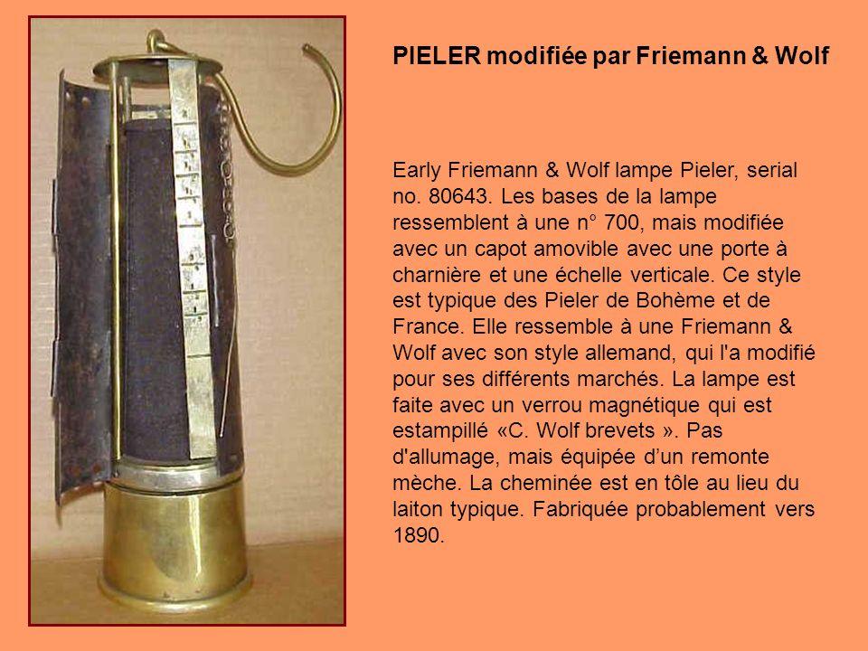 PIELER modifiée par Friemann & Wolf
