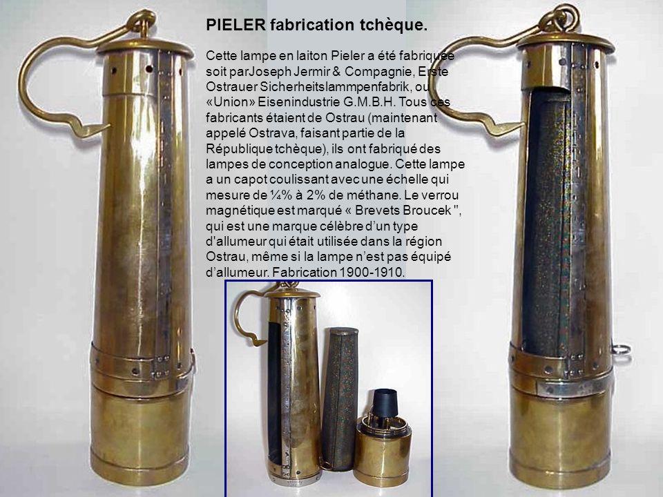 PIELER fabrication tchèque.